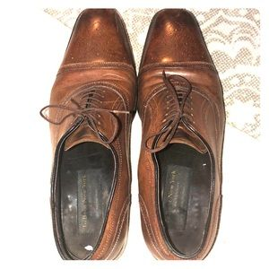 To Boot New York MENS Gorgeous Leather Shoes Sz 10